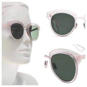 Dior Enigme 51 mm Vented Clubmaster Sunglasses
